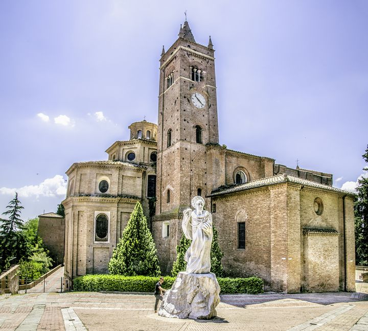Monte Oliveto Maggiore asciano siena - FineArt Italia