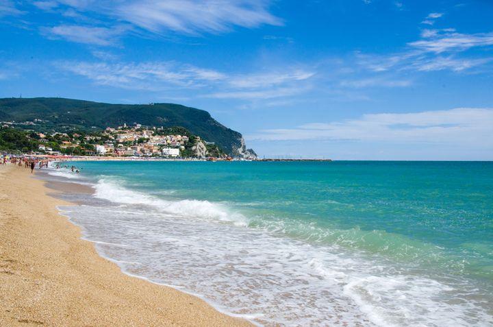beach Numana summer season italy - FineArt Italia