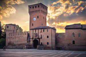 Formigine castle in Modena Italy