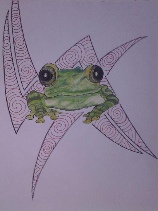 tribal frog - Soulfire