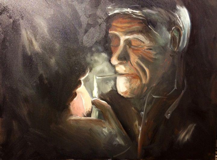 Smokin - M p Smyth
