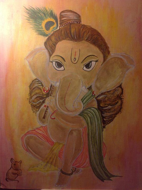 Baal Ganesha - kanika sharma
