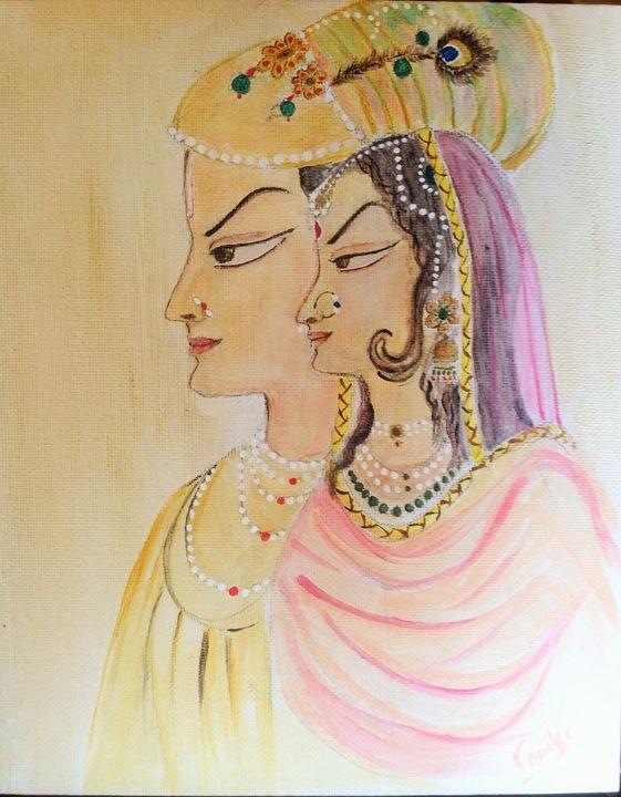 Mughal Art - kanika sharma