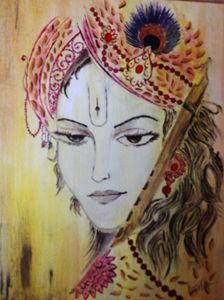 Hindu god.. lord krishna