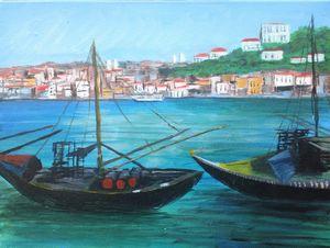 Mediterranean harbour - David Jackson