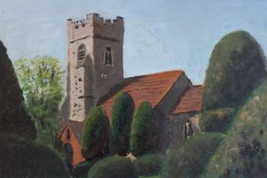 Borley church.
