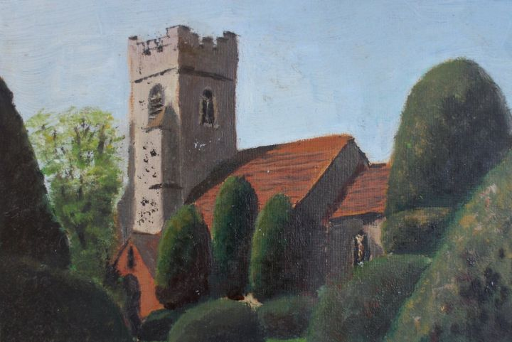 Borley church. - David Jackson