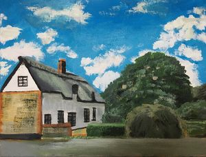 Thatched cottage - David Jackson