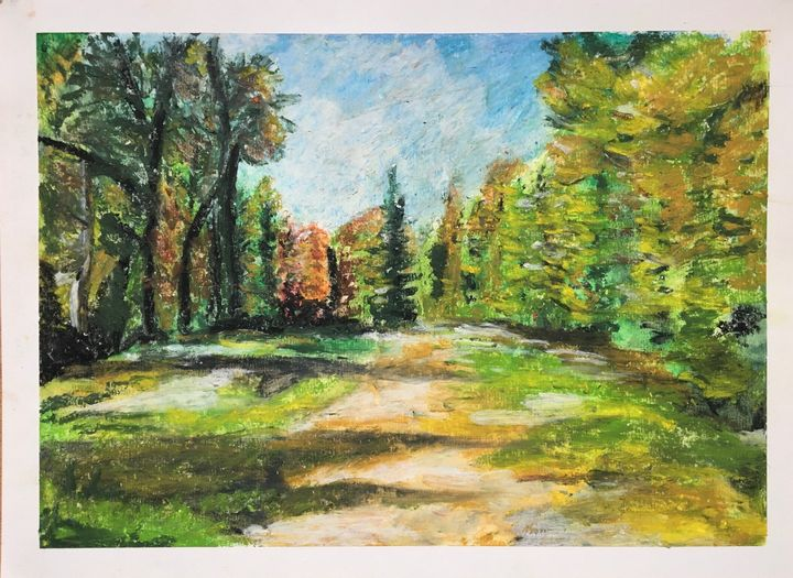 Autumn wood - David Jackson