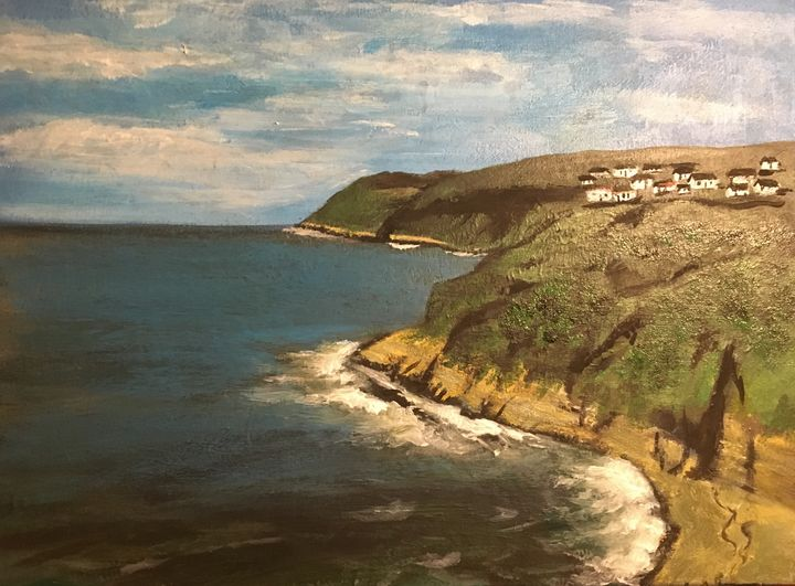 Coastal cliffs - David Jackson