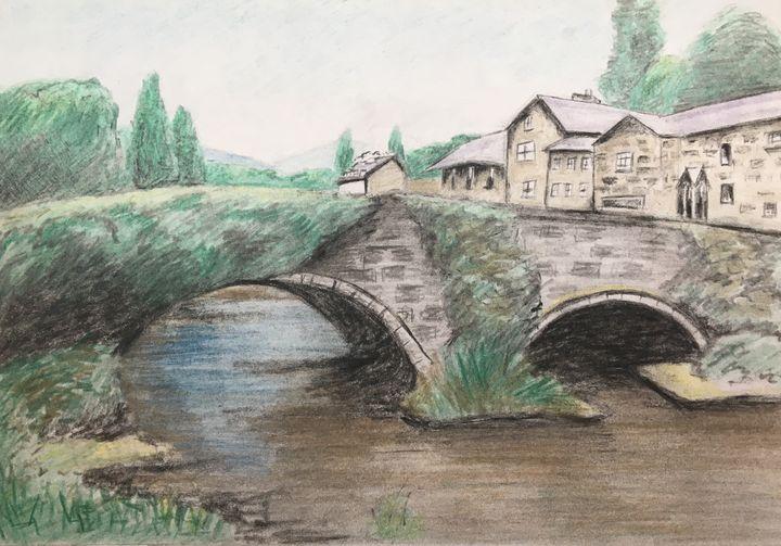 Packhorse bridge - David Jackson