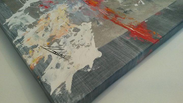 Mediterránea (detail) - Abstract Art By Lluís Miró