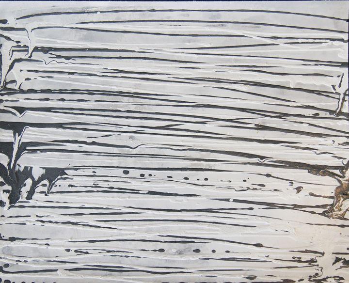 Flying H - Abstract Art By Lluís Miró