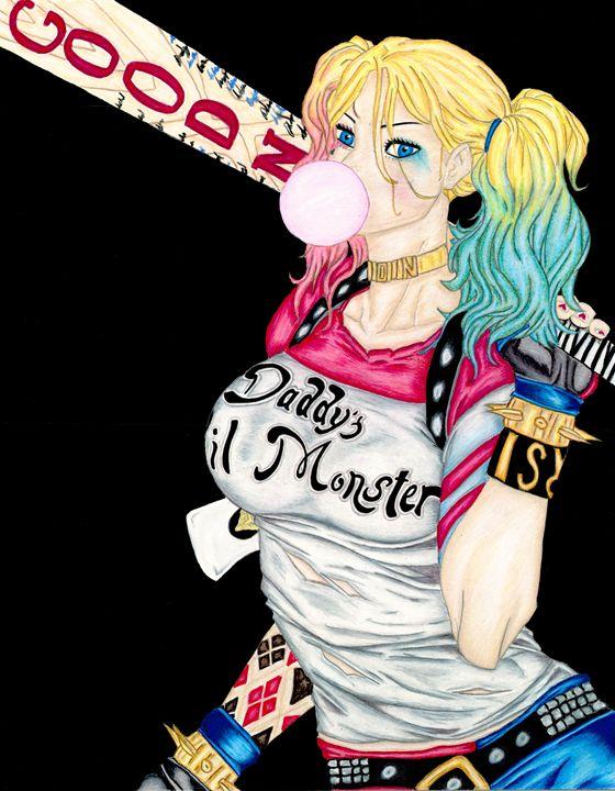 Original Harley Quinn Sucide Squad - Metaphoric Cre-8-tions