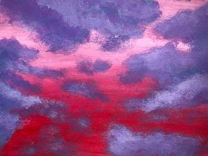 Purple clouds - Arah