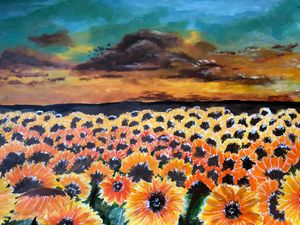 Sunflower meadow - Arah