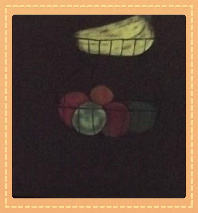 The Hanging Fruit Basket - RedBirds Art