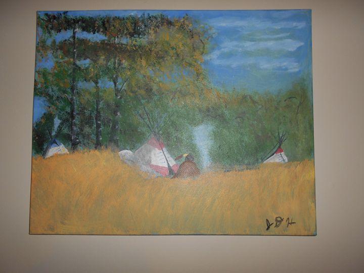 Evening on Shawnee Mountain - RedBirds Art