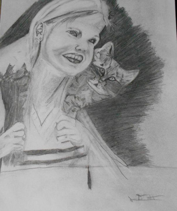 My Kitten - RedBirds Art