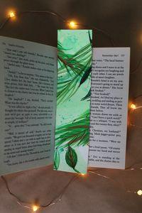 Original Tropical Bookmark Design #2