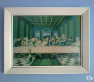 The Last Supper - Framed 3D Art
