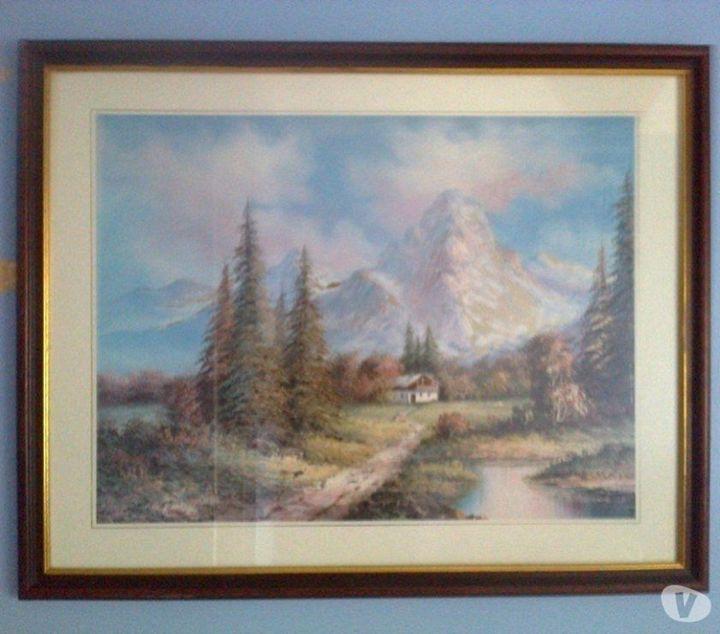 Leonard Parker - Framed Landscape - class of 73