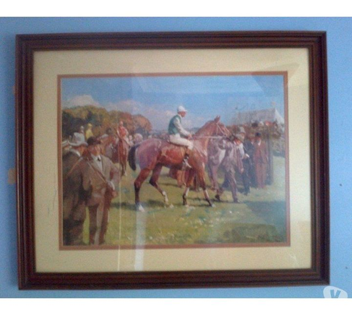 A J Munnings - Framed Print - class of 73