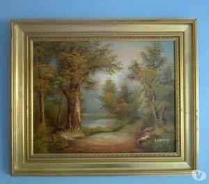 I Cafieri - Landscape Oil Painting