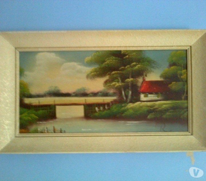 Oriental Landscape Oil Painting - class of 73