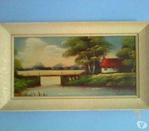 Oriental Landscape Oil Painting