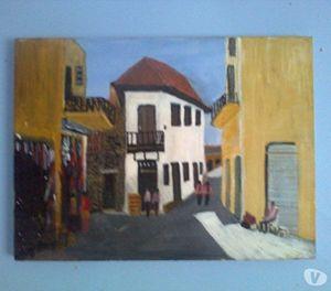 Bongo Kays - Oil On Canvas Painting