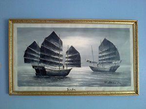 Matthew Ha - B&W Oil Painting
