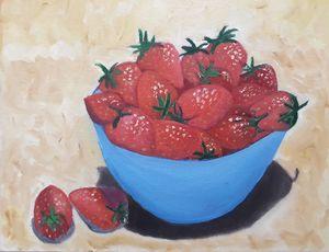 Strawberries & porcelain