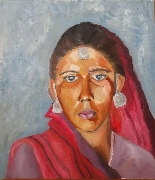Village Women - prema_paintings