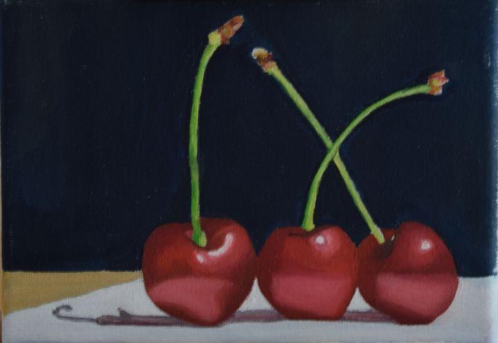 Cherries - prema_paintings