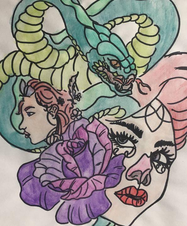 Snake lady - Impira
