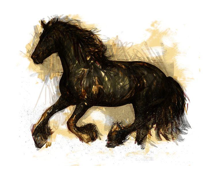 Wild Horse - BYART