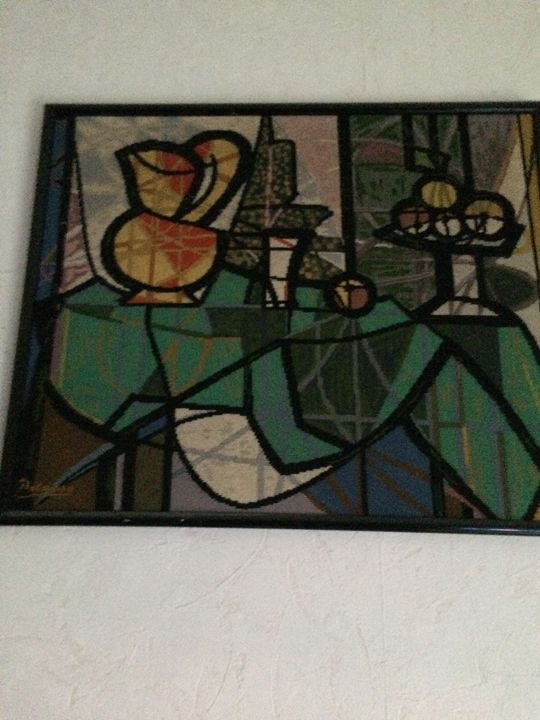 Picasso  ( tapestry   ) - sany