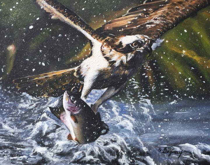 Majestic Predator - Sharon Duguay