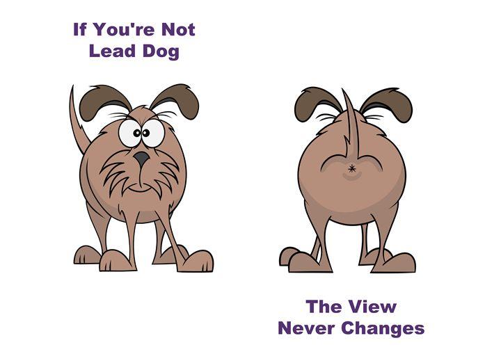 Lead Dog - ARTfunny