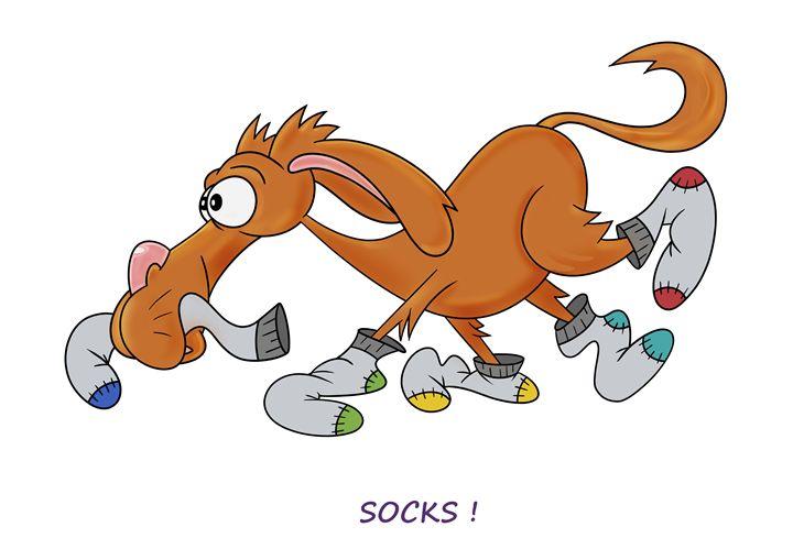 Socks! - ARTfunny