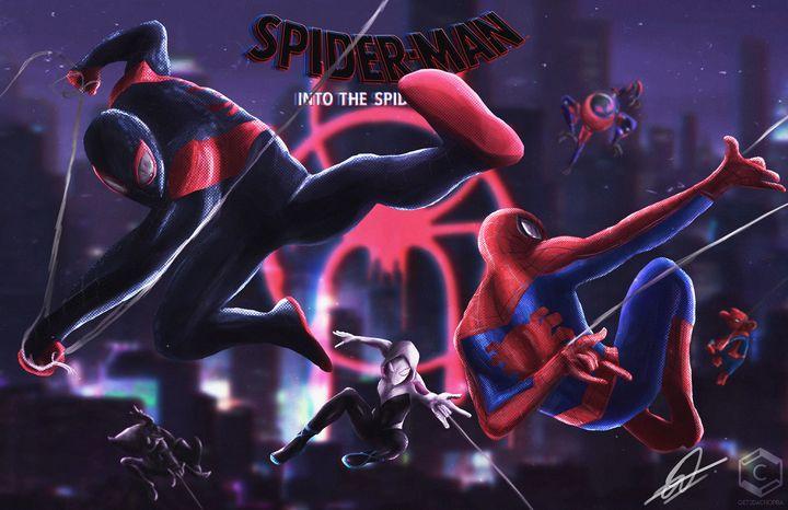 Into the Spider Verse - Get2DaChopra