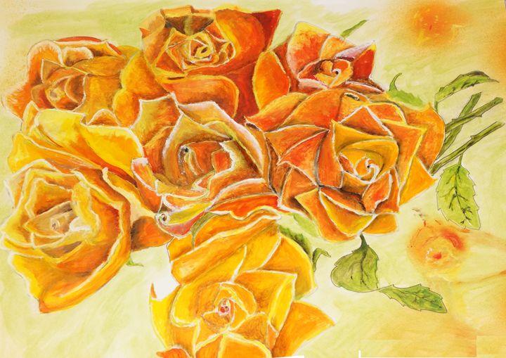Orange Roses - Tanmay