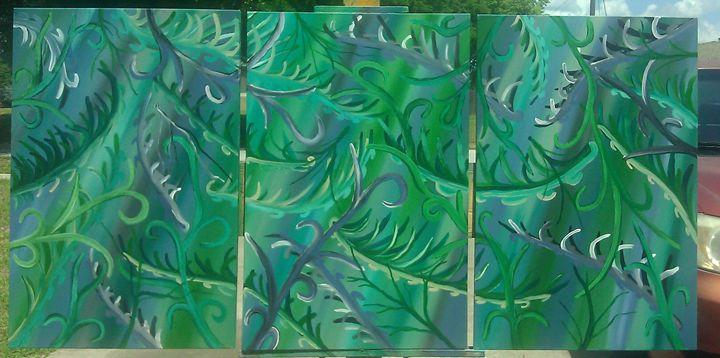 greenfall - jims custom art