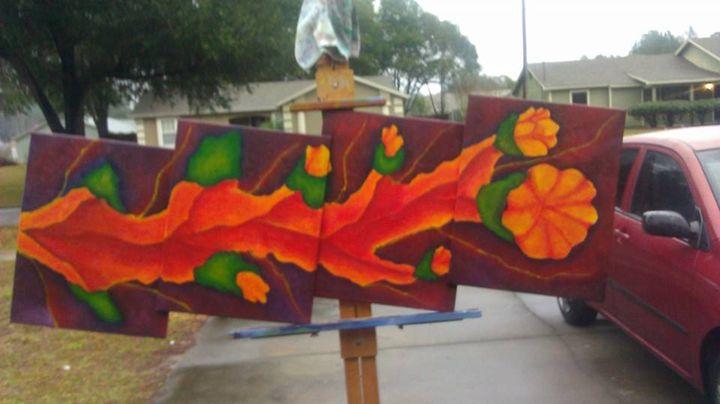 cactus blossom - jims custom art