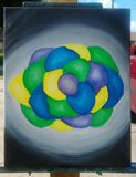 """16""""x20"""" acrylic on canvas"""