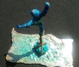"6""x6"" abstract sculpture"