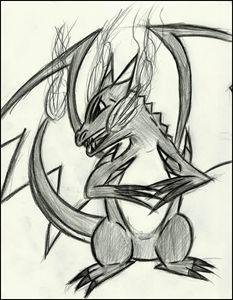 Charizard: The Blackened Dragon