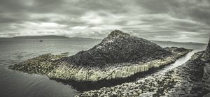 Rock formation on the Isle of Staffa