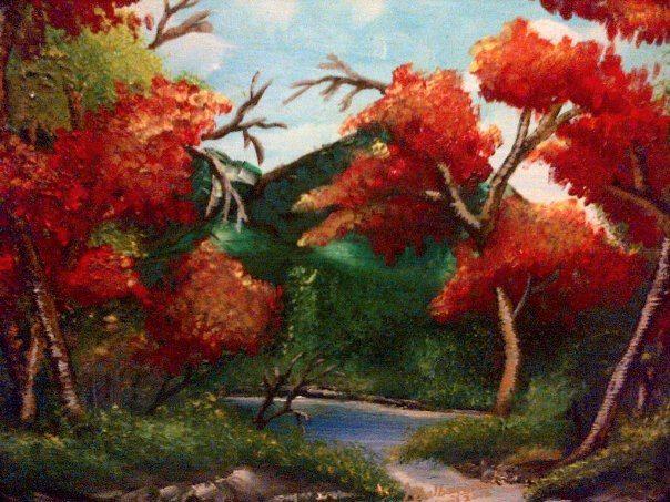 pond by Lloyd B. - Lloyd